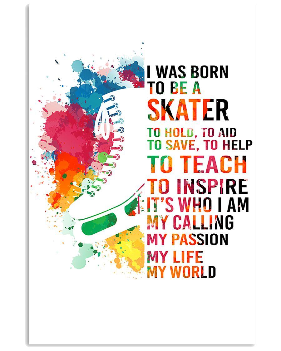 skater- I WAS BORN 11x17 Poster
