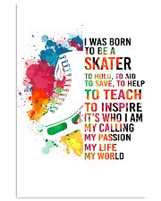 skater- I WAS BORN 11x17 Poster front