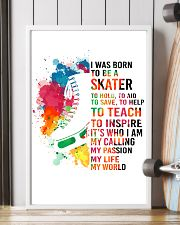 skater- I WAS BORN 11x17 Poster lifestyle-poster-4