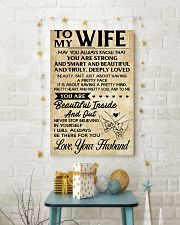 TO MY WIFE- YOUR HUSBAND 16x24 Poster lifestyle-holiday-poster-3