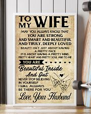 TO MY WIFE- YOUR HUSBAND 16x24 Poster lifestyle-poster-4