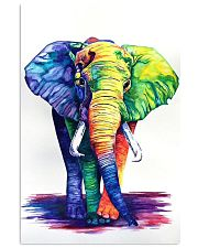 Elephants Beautiful Watercolor Poter GL - TL 11x17 Poster front