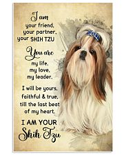 Shih Tzu - Your Friend Poster SKY 11x17 Poster front