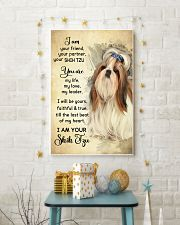 Shih Tzu - Your Friend Poster SKY 11x17 Poster lifestyle-holiday-poster-3