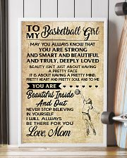 TO MY BASKETBALL GIRL- MOM 16x24 Poster lifestyle-poster-4