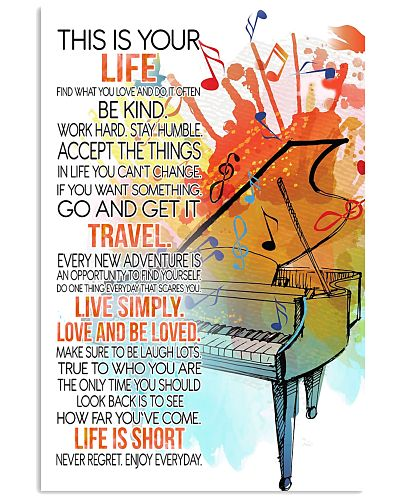 piano this is your life poster- LQT
