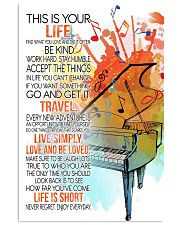 piano this is your life poster- LQT 16x24 Poster front