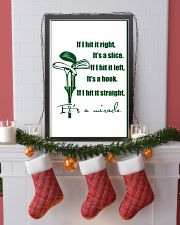 8-GOLF- IF I HIT IT RIGHT poster 11x17 Poster lifestyle-holiday-poster-4