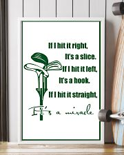 8-GOLF- IF I HIT IT RIGHT poster 11x17 Poster lifestyle-poster-4