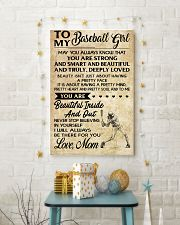 TO MY BASEBALL GIRL- MOM 16x24 Poster lifestyle-holiday-poster-3