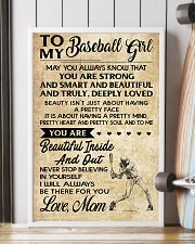 TO MY BASEBALL GIRL- MOM 16x24 Poster lifestyle-poster-4
