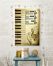 Piano - Don't don't Just SKY poster 11x17 Poster lifestyle-holiday-poster-3