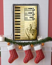 Piano - Don't don't Just SKY poster 11x17 Poster lifestyle-holiday-poster-4