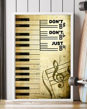 Piano - Don't don't Just SKY poster 11x17 Poster lifestyle-poster-4
