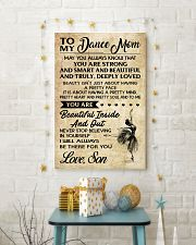 TO MY Dance mom - SON 16x24 Poster lifestyle-holiday-poster-3