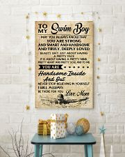 TO MY Swim Boy Mom 16x24 Poster lifestyle-holiday-poster-3