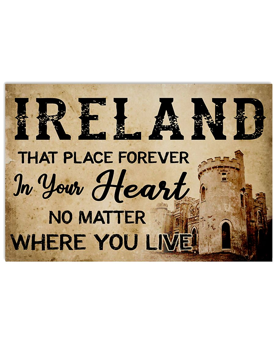 IRELAND THAT PLACE FOREVER IN YOUR HEART poster 17x11 Poster