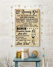 TO MY RUNNING - DAD 16x24 Poster lifestyle-holiday-poster-3