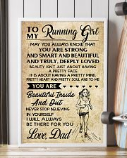 TO MY RUNNING - DAD 16x24 Poster lifestyle-poster-4