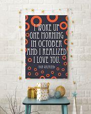 October- I WOKE UP ONE MORNING 16x24 Poster lifestyle-holiday-poster-3
