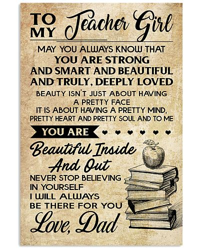 TO MY TEACHER GIRL DAD