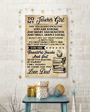 TO MY TEACHER GIRL DAD 16x24 Poster lifestyle-holiday-poster-3