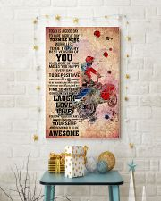 8-quad racer- TODAY IS A GOOD DAY POSTER kd 11x17 Poster lifestyle-holiday-poster-3