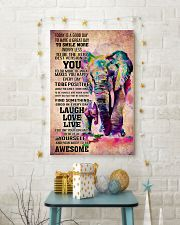 ELEPHANT- TODAY IS A GOOD DAY POSTER 16x24 Poster lifestyle-holiday-poster-3