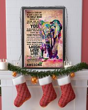 ELEPHANT- TODAY IS A GOOD DAY POSTER 16x24 Poster lifestyle-holiday-poster-4