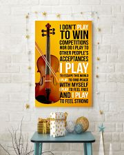 FIDDLE  - I DON'T PLAY TO WIN COMPETITIONS 11x17 Poster lifestyle-holiday-poster-3