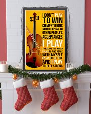 FIDDLE  - I DON'T PLAY TO WIN COMPETITIONS 11x17 Poster lifestyle-holiday-poster-4