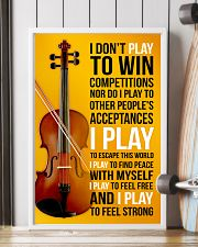 FIDDLE  - I DON'T PLAY TO WIN COMPETITIONS 11x17 Poster lifestyle-poster-4
