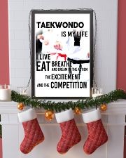TAEKWONDO IS MY LIFE POSTER 11x17 Poster lifestyle-holiday-poster-4