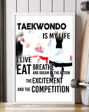 TAEKWONDO IS MY LIFE POSTER 11x17 Poster lifestyle-poster-4