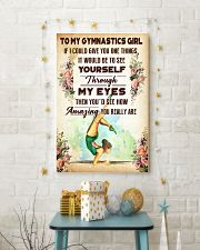 TO MY GYMNASTICS GIRL - YOU REALLY ARE 11x17 Poster lifestyle-holiday-poster-3