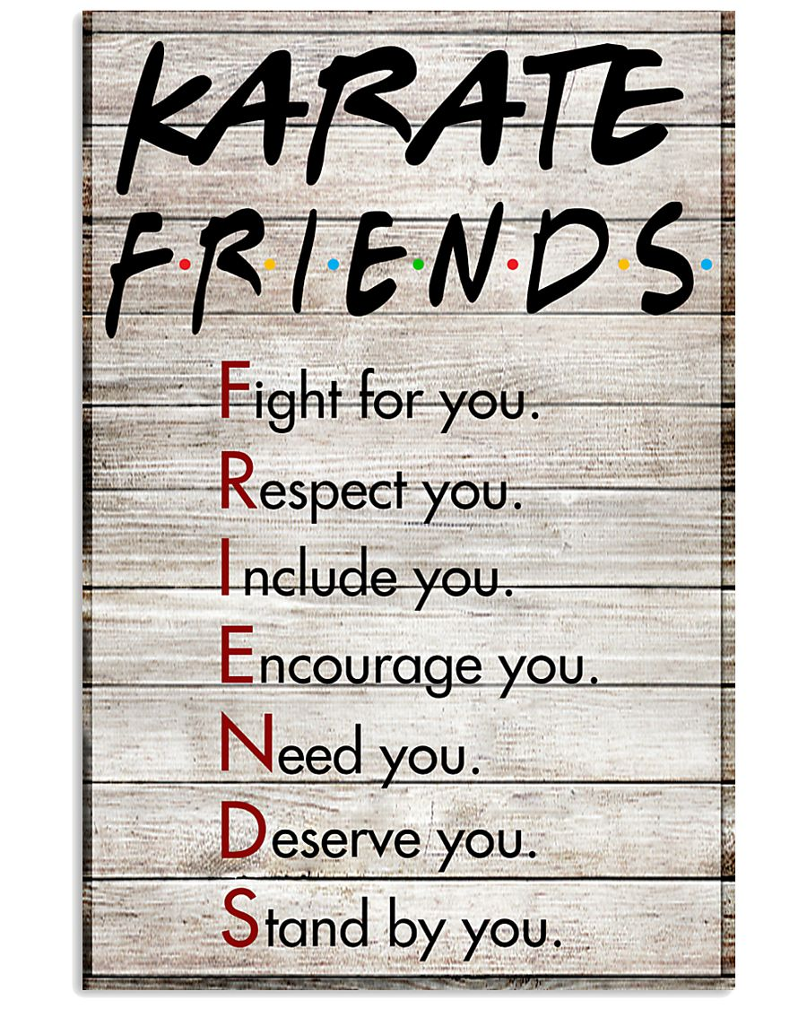 Karate Friends - Poster 11x17 Poster