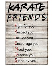 Karate Friends - Poster 11x17 Poster front