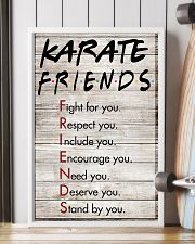 Karate Friends - Poster 11x17 Poster lifestyle-poster-4