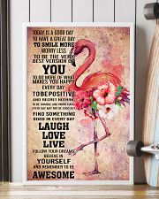 Flamingo- TODAY IS A GOOD DAY POSTER 16x24 Poster lifestyle-poster-4