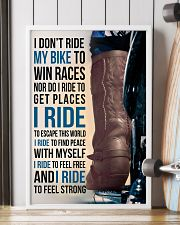 1- I DON'T RIDE MY BIKE TO WIN RACES - KD COWBOY  11x17 Poster lifestyle-poster-4