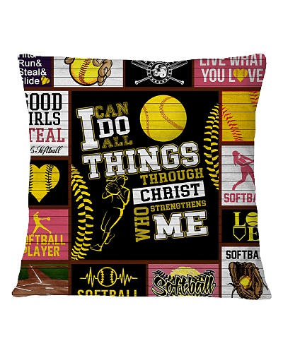 SOFTBALL DECOR PILLOWCASE 2