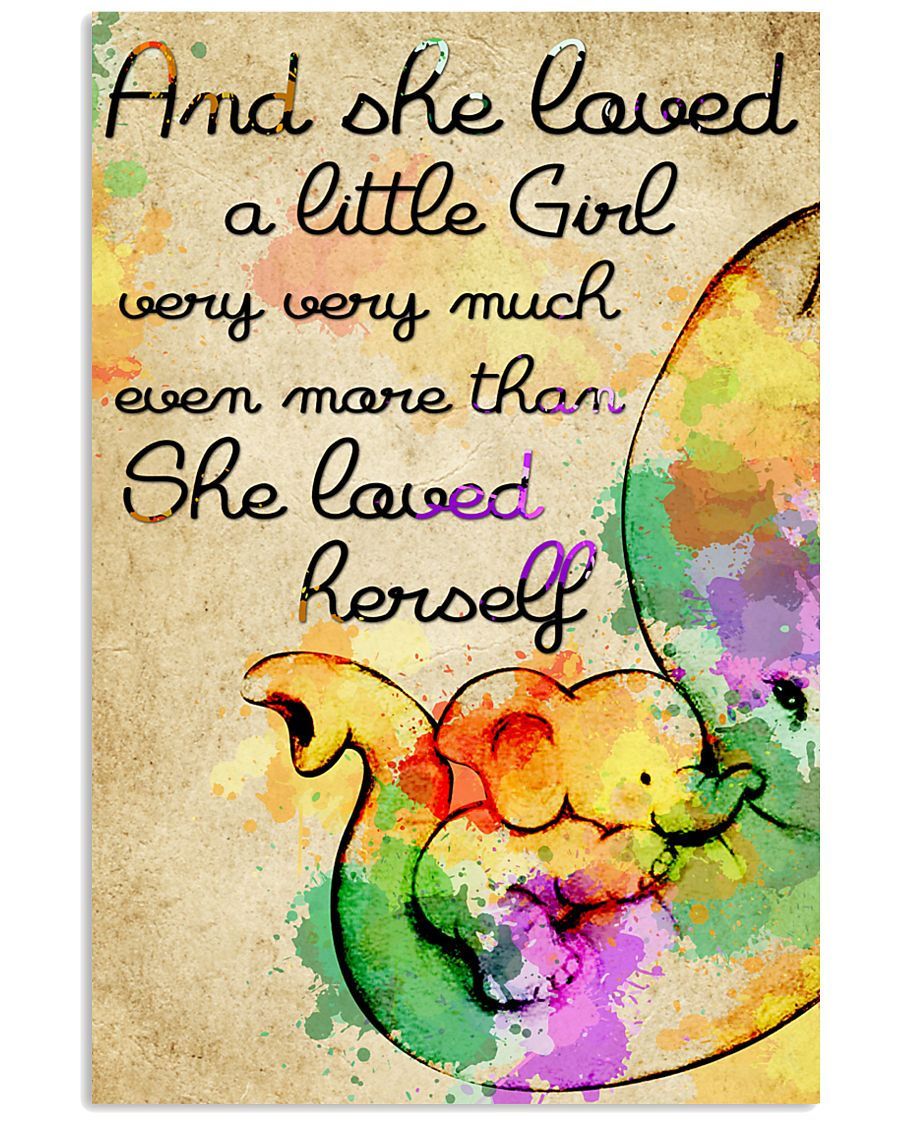 And she loved a little Girl 11x17 Poster