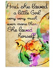 And she loved a little Girl 11x17 Poster front