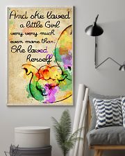 And she loved a little Girl 11x17 Poster lifestyle-poster-1