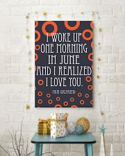June- I WOKE UP ONE MORNING 16x24 Poster lifestyle-holiday-poster-3