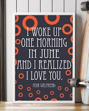 June- I WOKE UP ONE MORNING 16x24 Poster lifestyle-poster-4