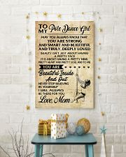 TO MY POLE DANCE GIRL- MOM 16x24 Poster lifestyle-holiday-poster-3