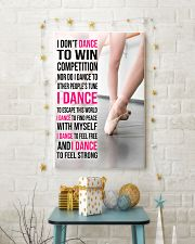 15 I DON'T DANCE TO WIN COMPETITION - KD 11x17 Poster lifestyle-holiday-poster-3