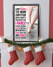 15 I DON'T DANCE TO WIN COMPETITION - KD 11x17 Poster lifestyle-holiday-poster-4