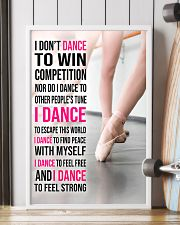 15 I DON'T DANCE TO WIN COMPETITION - KD 11x17 Poster lifestyle-poster-4